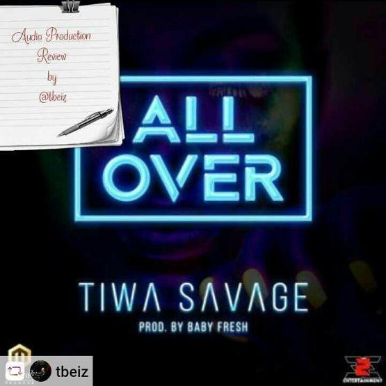 All Over Tiwa Savage